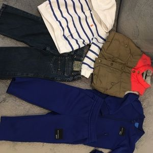 18 Month polo and adidas Bundle